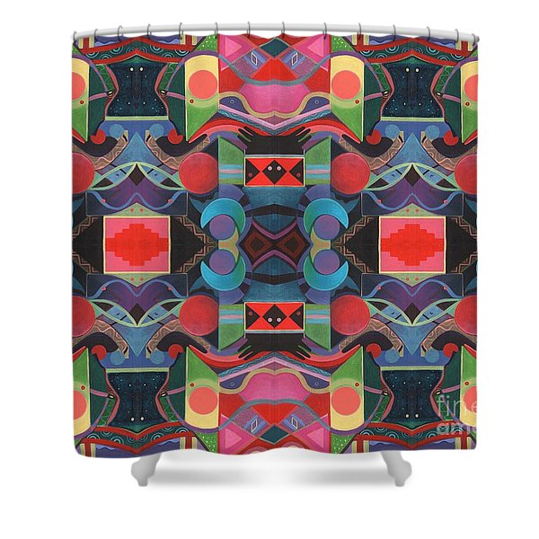 Rising Above And Synergy 4 Shower Curtain