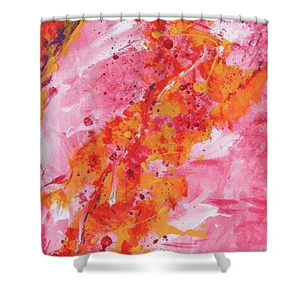 Rising Fires Shower Curtain