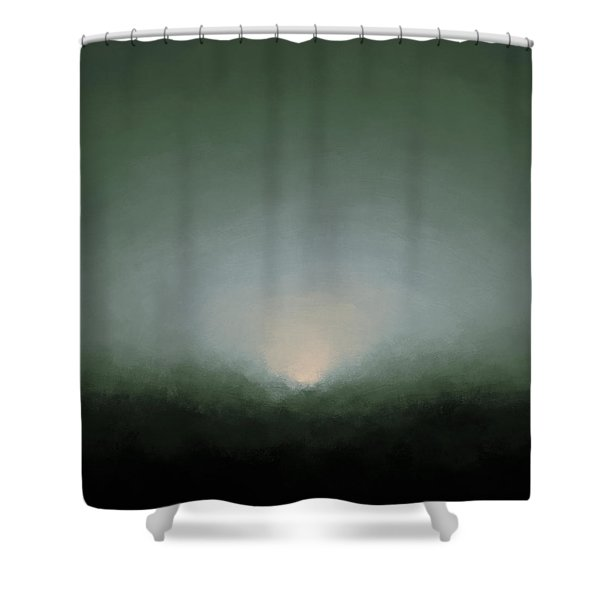 Rising Moon Shower Curtain