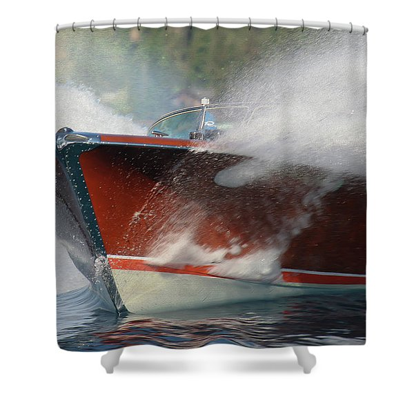 Riva Splash Shower Curtain