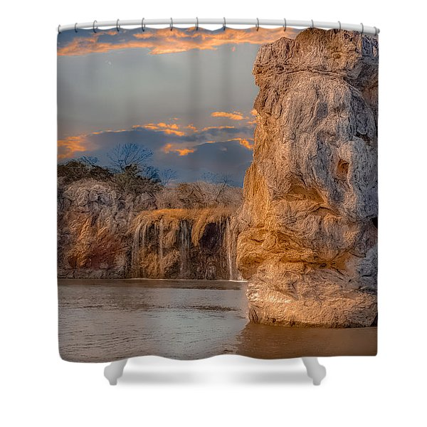 River Cruise Shower Curtain