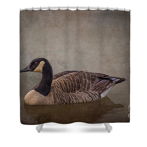 River Goose Shower Curtain