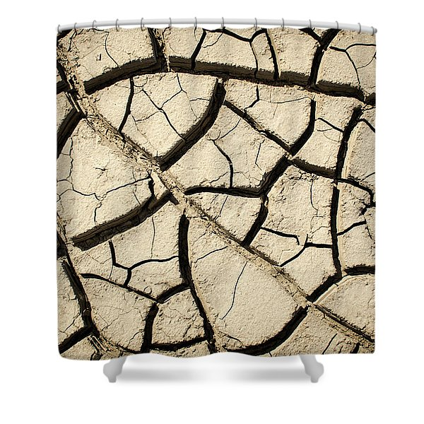 River Mud Shower Curtain