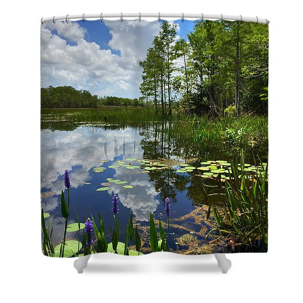River Of Calm Shower Curtain