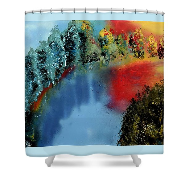 River Of Colors Shower Curtain