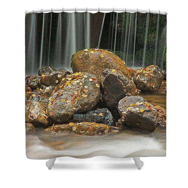 River Rocks Shower Curtain