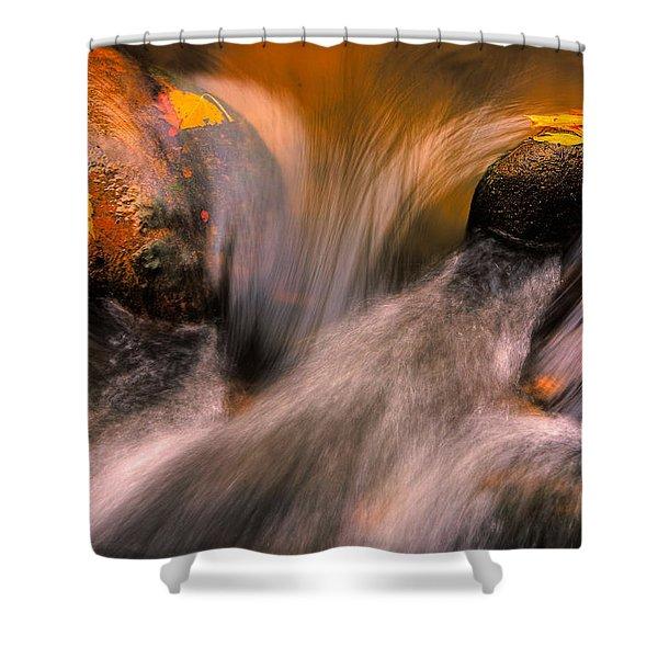 River Rocks, Zion National Park Shower Curtain