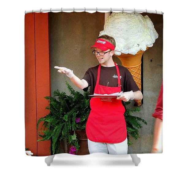 River Street Candy Man Shower Curtain