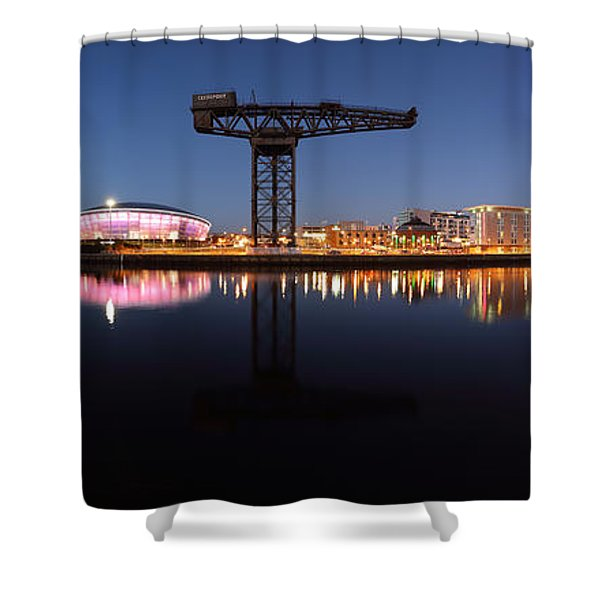River View Panoramic Shower Curtain