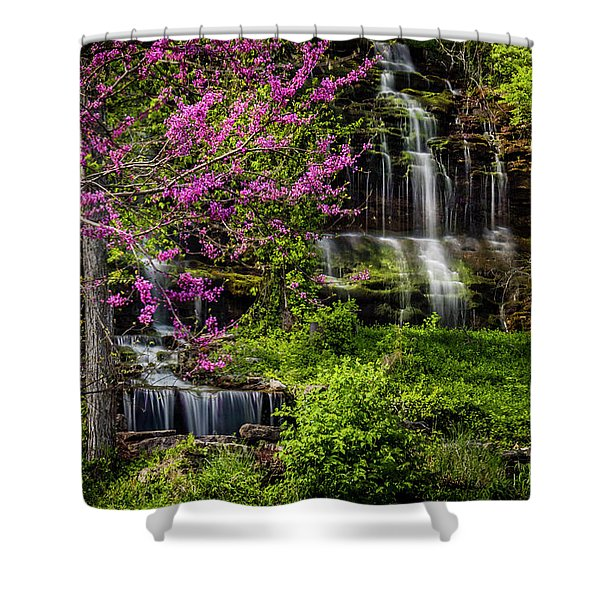 Rivercut Waterfall Shower Curtain