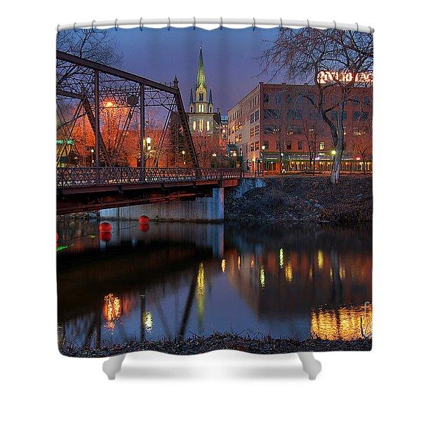Riverplace Minneapolis Little Europe Shower Curtain