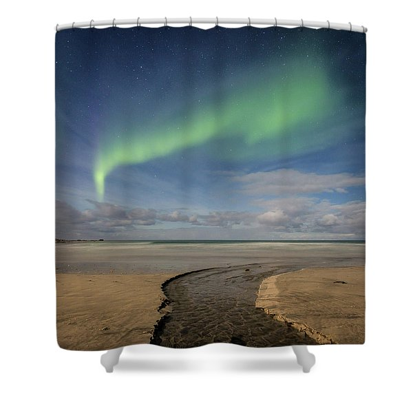 Rivers Shower Curtain