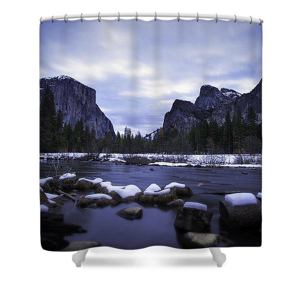Rivers Edge Shower Curtain