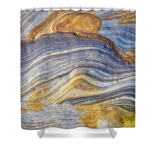 Rivers Of Stone Shower Curtain