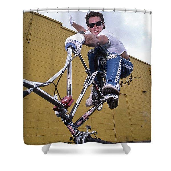 Rl Osborn Shower Curtain