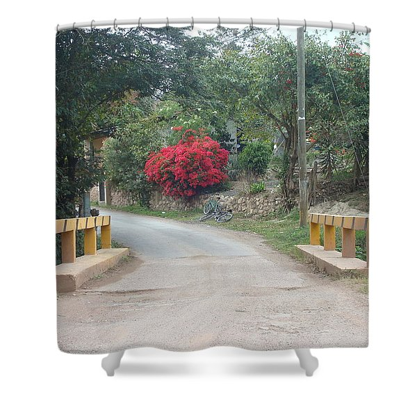 Road 1 Shower Curtain