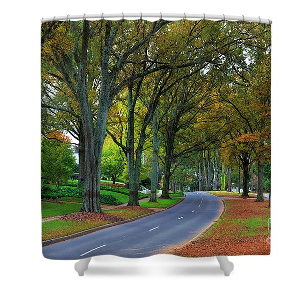 Road In Charlotte Shower Curtain
