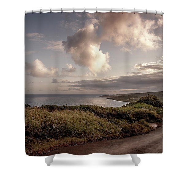 Road Less Traveled Shower Curtain