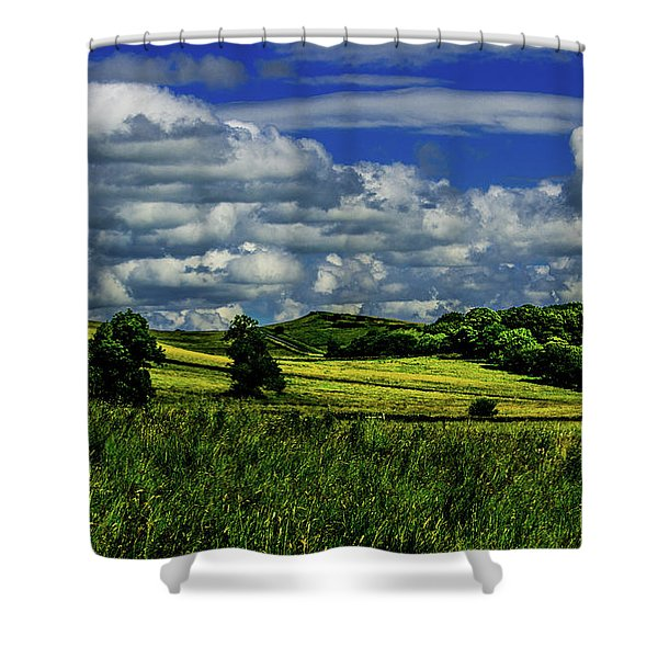 Road To Heaven Shower Curtain