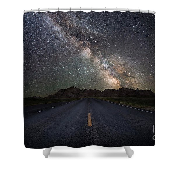 Road To The Heavens Shower Curtain