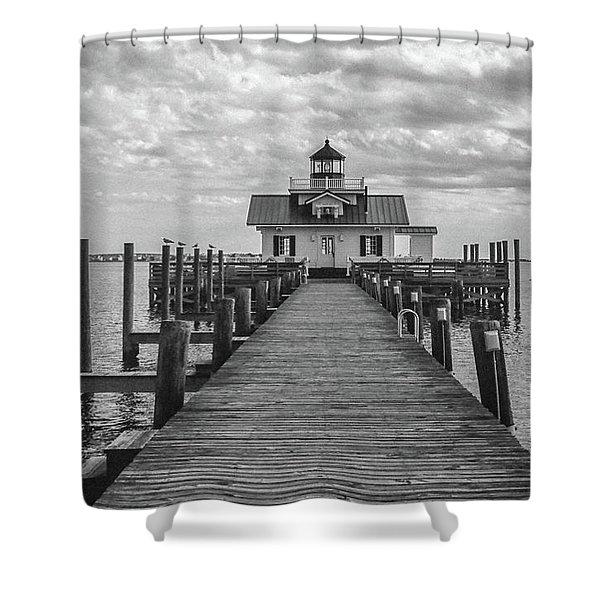 Roanoke Marshes Light Shower Curtain