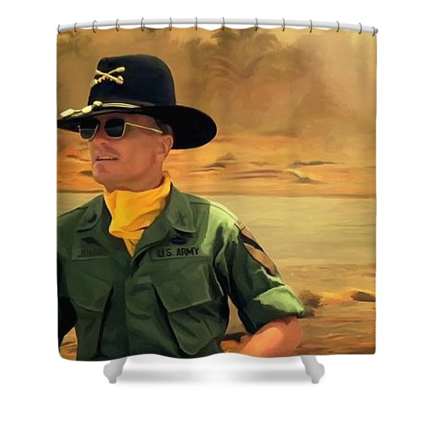 Robert Duvall @ Apocalypse Now Shower Curtain