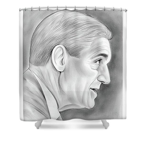 Robert Mueller Shower Curtain