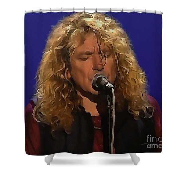 Robert Plant Collection - 4 Shower Curtain