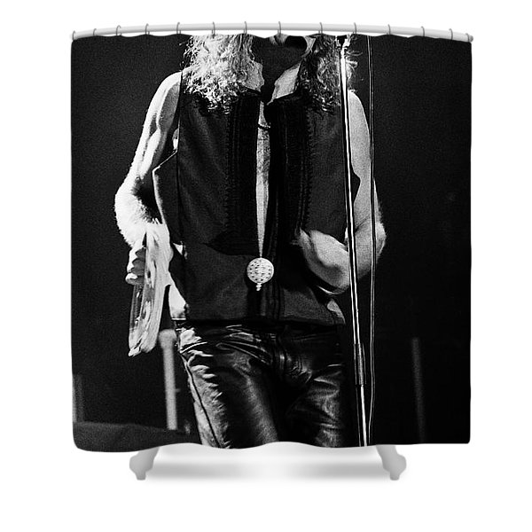 Robert Plant-0064 Shower Curtain
