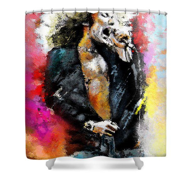 Robert Plant 03 Shower Curtain