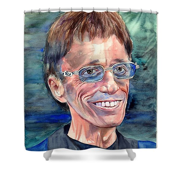 Robin Gibb Bee Gees Shower Curtain