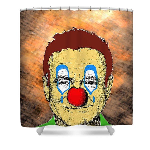 Robin Williams 1 Shower Curtain