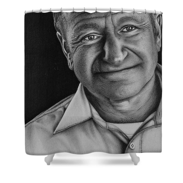 Robin Williams Tribute Shower Curtain