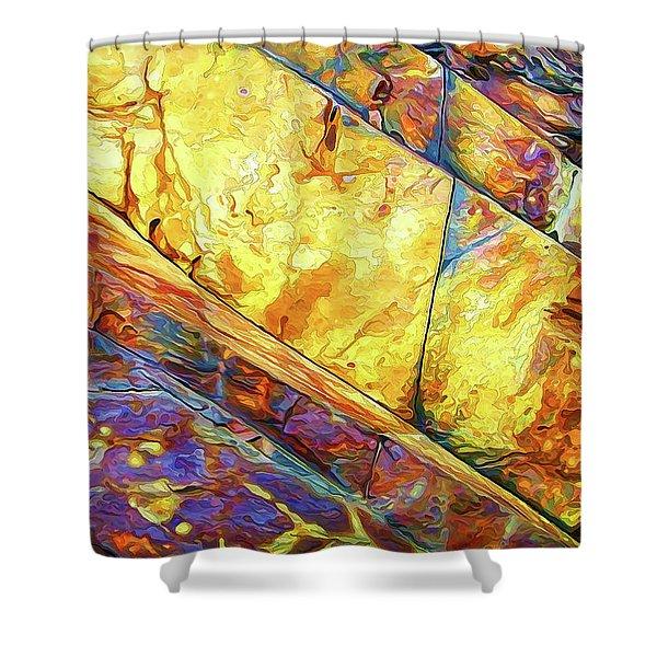 Rock Art 23 Shower Curtain
