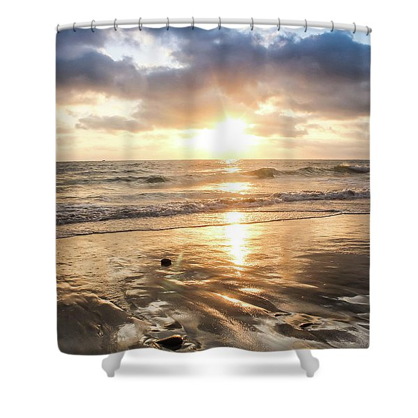 Rock 'n Sunset Shower Curtain