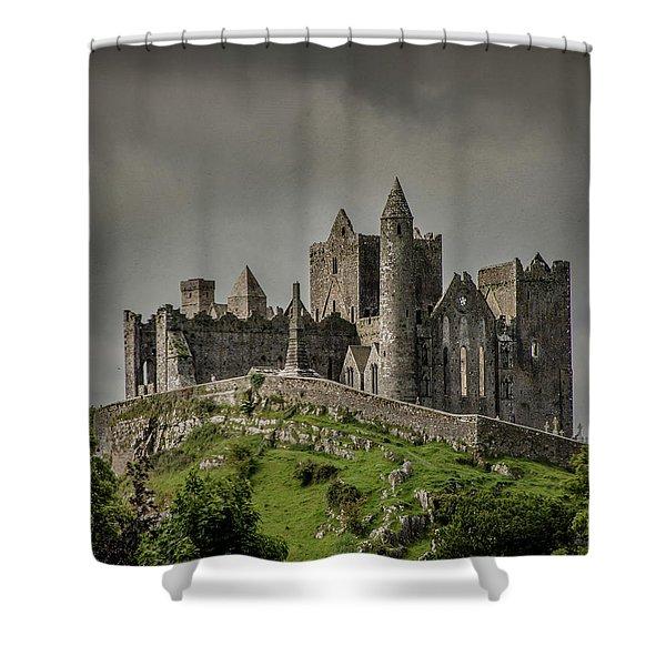 Rock Of Cashel Shower Curtain