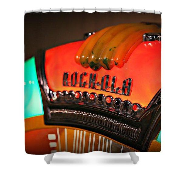 Rock-ola  Shower Curtain