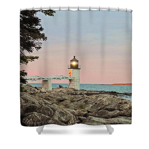 Rock Patterns Shower Curtain