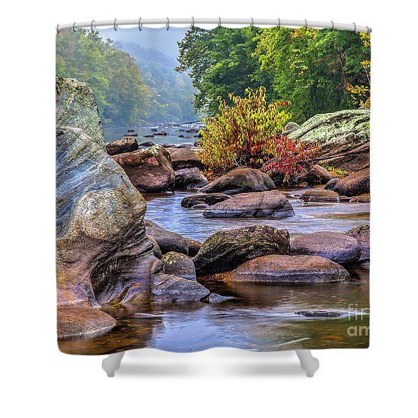 Rockscape Shower Curtain