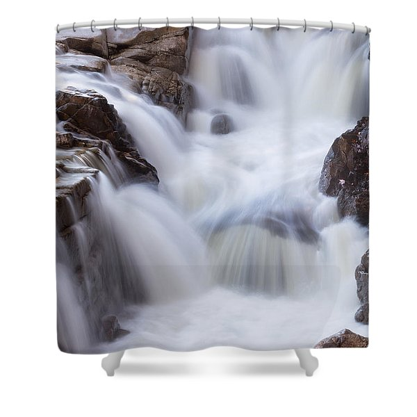 Rocky Gorge Falls Shower Curtain