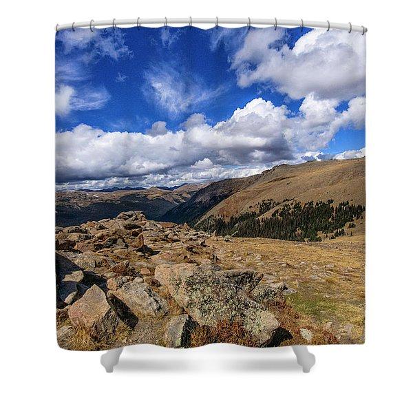 Rocky Mountain National Park Colorado Shower Curtain