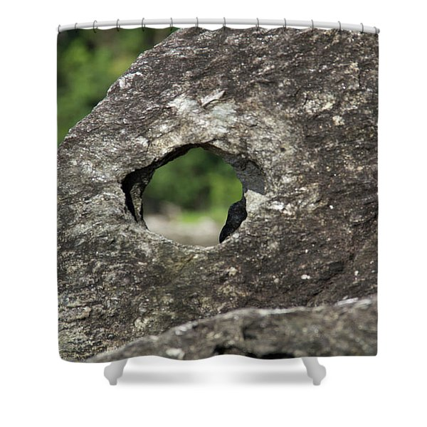 Shower Curtain featuring the photograph Rocky View Point by Debbie Cundy