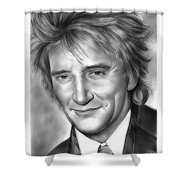 Rod Stewart Shower Curtain