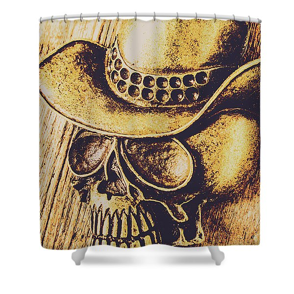Rodeo Spook Shower Curtain