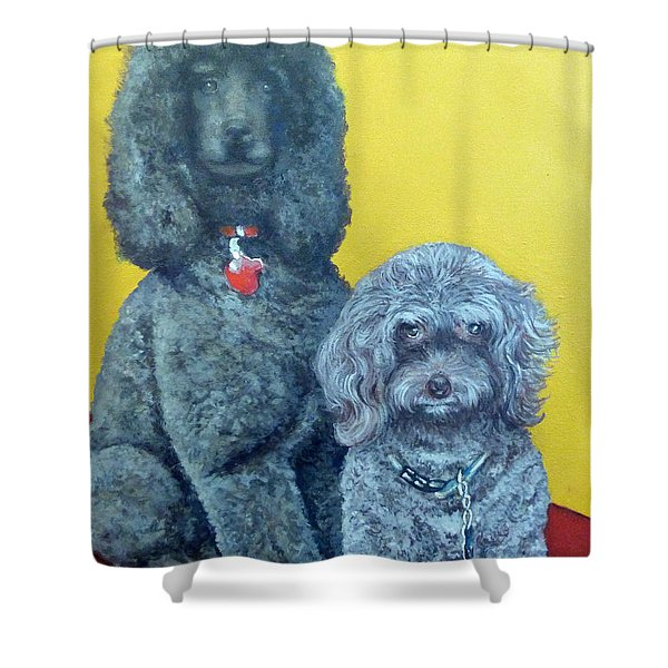 Roger And Bella Shower Curtain