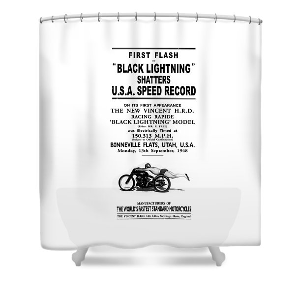 Rollie Free Flying Mile Shower Curtain