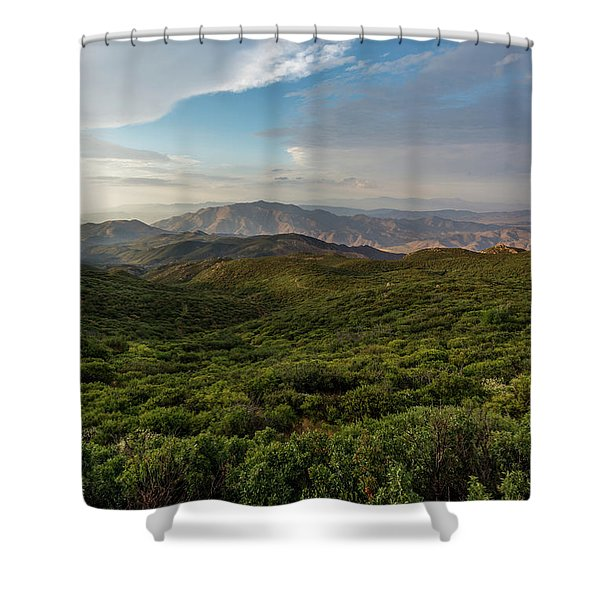 Rolling Hills Of Chaparral Shower Curtain