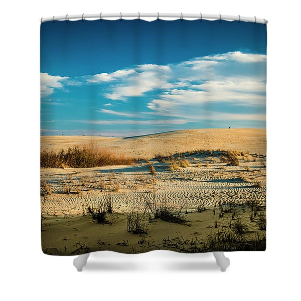 Rolling Sand Dunes Shower Curtain