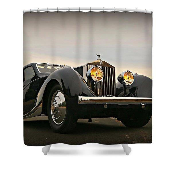 Rolls Royce Figoni Et Falaschi Shower Curtain