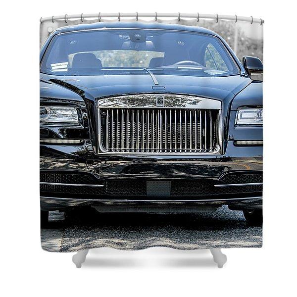 Rolls - Royce Wraith Coupe 2016 Shower Curtain